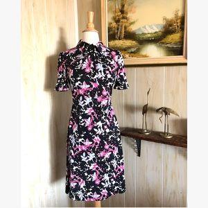 Diane Von Furstenberg Silk Floral Day Dress